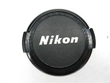 Nikon 52mm Black / Silver Front Camera Lens Cap For Ai Ai-S AF AF-S Non Ai