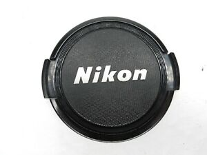 Nikon 52mm Black / Silver Front Camera Lens Cap For Ai Ai-S AF AF-S Non Ai