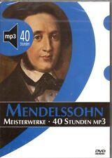 DVD Meisterwerke Mendelssohn 40 Stunden MP3