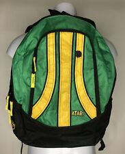 ATARI - Vintage Green, Yellow & Black Nylon Backpack