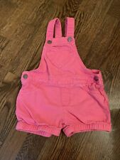 The Childrens Place Girls 18-24 Months Pink Shorts Overalls