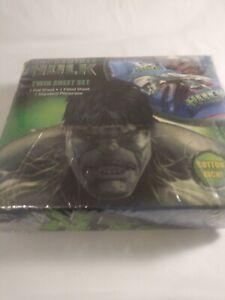 Marvel Hero The Incredible Hulk Twin Sheet Set For Boy's Room