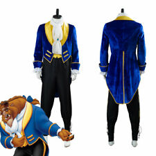 Beauty And The Beast Prince Beast Cosplay Costume Halloween Uniform Outfit