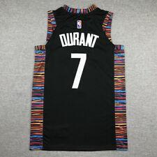 Kevin Durant #7 Brooklyn Nets Camiseta Jersey Baloncesto Edición de ciudad Negro