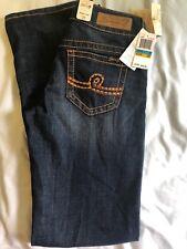 Womens Seven 7 Jeans 29/9 Bootcut Darkwash Thick Stitch Pocket Jeans $69