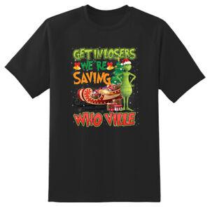 Grinch Xmas Christmas Adult Unisex Novelty T shirt