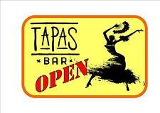 Signe Café Style Vintage Tapas Barre Espagnol Cuisine