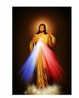 61550 Divine Mercy Image Love Jesus Christ Motivation Wall Print POSTER CA