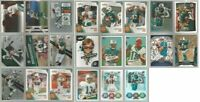 Miami Dolphins 22 card 2010 insert lot-all different