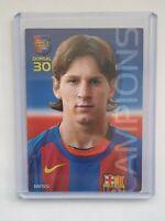 *RARE* 2004 Panini Mega Cracks Barca CATALAN #35 Lionel Messi Rookie Campio
