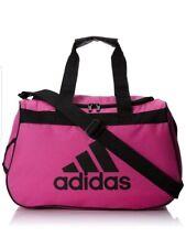 Adidas Diablo Small Duffel Gym Locker Bag Pink/Black
