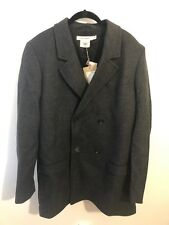 NWTG ISABEL MARANT X H&M Grey Double Breasted Coat  Size US 40R /CA 40R/ EUR 50