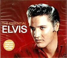 THE ESSENTIAL ELVIS PRESLEY 2 CD BOX SET GOLDEN RECORDS / KING CREOLE