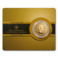 2008 Canada 1 oz Gold Maple Leaf .99999 BU (w/Assay Card) - SKU #42882