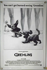 RARE GREMLINS ROLLED ORIG 1SH MOVIE POSTER GIZMO BEACH STYLE JOE DANTE (1984)