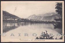TRENTO LEVICO TERME 48 BAGNI - LAGO Cartolina  viaggiata 1933