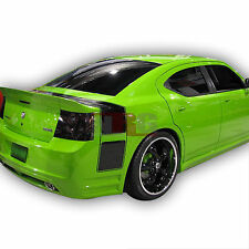 Charger 05-10 Dodge KB Style Poly Fiberglass body kit Rear Wing Spoiler 3pc