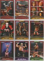 TNA 2008 Cross The Line Tristar Complete 100 Card Base Set Nash Love Sky Sting