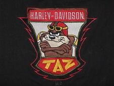 """Harley Davison - TAZ "" T-Shirt – Embroidered – Great image (M)"