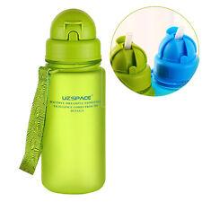 My Plastic Water Bottle 400ml Leak Proof Seal With Straw For Kids School bottle