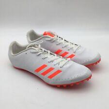 Adidas Sprintstar Mens Running Spikes Gray Orange Low Top Lace Up BB5746 13 New