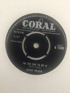 Jackie Wilson - I'm The One To Do it (UK Coral)