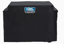 Blue Rhino 48.5-in Black Gas Grill Cover Razor Griddle Grill Cover Model 916729