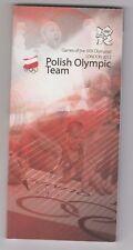 Orig.Team Guide  Olympische Spiele LONDON 2012 - Team POLEN / alle Sportler  !!