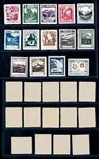 [56118] Liechtenstein 1930 Landscapes Mint - Perfect re-gummed
