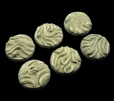 Micro Art Studio 40mm Hive Bases (2) Brand New B02722 Wargaming Bases