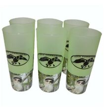 Duck Commander Duck Dynasty Uncle Si Tea Cups 16 Oz Green drink ware 6 pack NWT