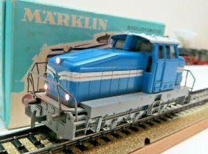 Märklin H0 3078 Diesel Locomotive Dhg 500 on both Sides Illuminated Tested Boxed