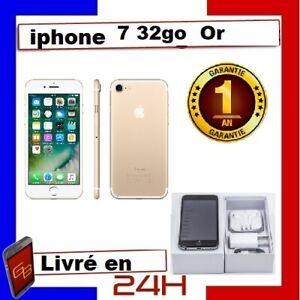 APPLE IPHONE 7 32GO GOLD OR Reconditionné DÉBLOQUÉ COMME NEUF  TÉLÉPHONE 32 GIGA