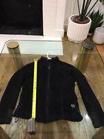 MOUNTAIN HARDWEAR Black Jacket Monkey Fleece Women's Small Made in USA