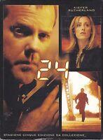 7 Dvd Box Cofanetto «24 ♦ QUINTA STAGIONE CINQUE 5» nuovo 2007