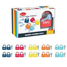 Learning Numbers Toy, Keys for Kids Educational Numbers Learning Locks Preschool