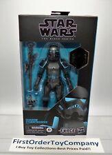 """Star Wars Black Series 6"""" Inch Gamestop Shadow Stormtrooper Figure MISB SEALED"""