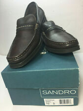 Sandro Moscoloni Men's Shoes - Loafers Casual Slip On Brown Leather Sz 10/D