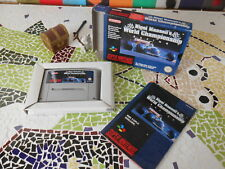 """*~  NIGEL  MANSELL'S  """" wOrld  champiOnship  """"_ FAH _ cOmplet - pOur  SNES ~*"""
