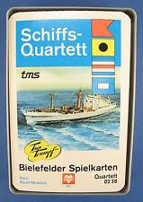 Cuarteto-schiffsquartett-Bielefelder naipes -- nº 0238-barcos Joker