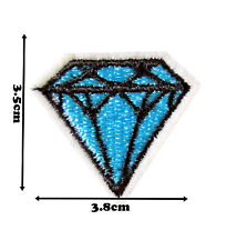 Small Diamond Iron Sew Embroidered Patch Badge Patches Logo Fancy Badges #282