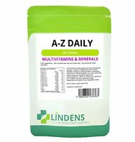 Complete A-Z Daily Multivitamin 90 Tablets Adults Men / Women Multi Vitamin S