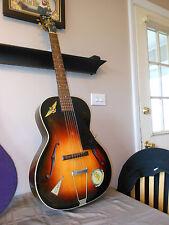 "1939 Gibson L-37 ""NAVY"" Owned Pre-War Jacksonville ,FLA  Deep Flame Wood Grain"
