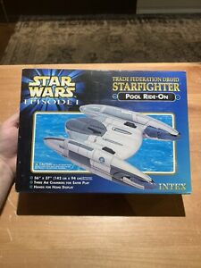 Star Wars Episode I Trade Federation Droid StarFighter Pool Ride On