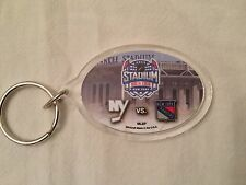 Key Chain NY Rangers vs Islanders NHL Hockey Jan 29, 2014 Stadium Series Yankee