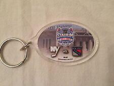 Key Chain NY Rangers vs Islanders NHL Hockey Jan 29, 2014 Stadium Series Yankee