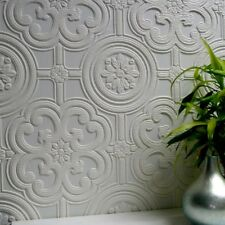 Paintable Wallpaper Embossed Textured Luxury Vinyl Easy Apply Egon Anaglypta
