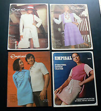 Empisal International Knitwear Collection 4 Pattern Books Fashion Knits Vintage