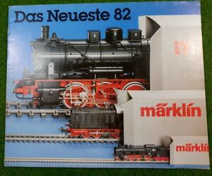 MÄRKLIN  >> Neuheiten-Prospekt 1982 << | deutsch | 16 Seiten | d154