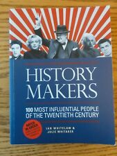Fabulous Book HISTORY MAKERS 100 Most Influential People of the 20th Centrury